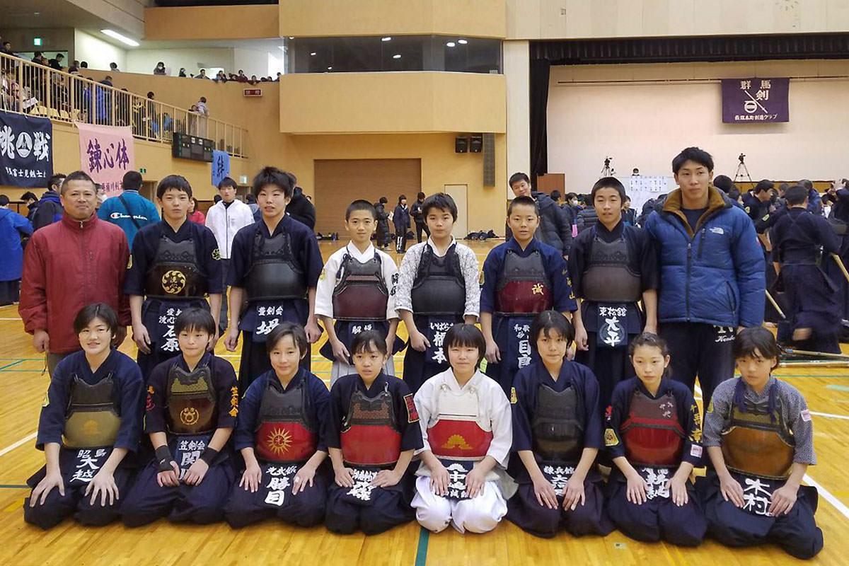 第10回からっ風錬成会 小学生の部 紅白戦代表選手