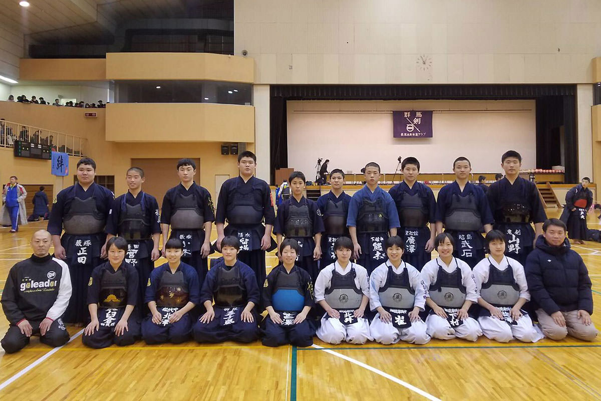 第10回からっ風錬成会 中学生の部 紅白戦代表選手