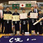 和歌山砂山少年剣友会創立45周年記念 吉宗杯・小梅杯争奪全国選抜少年剣道大会