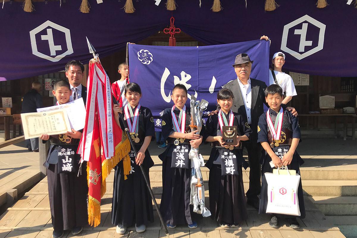 第47回砥鹿神社例祭奉納少年少女剣道大会
