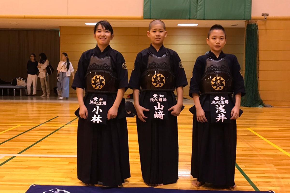 第14回全日本都道府県対抗少年剣道優勝大会・愛知県代表選手