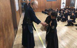 伊佐地先生81歳のお祝いと内田師範長に常任理事就任のお祝い