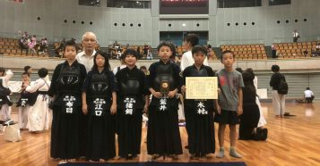 第6回和歌山ビッグホエール杯争奪全国選抜少年剣道大会