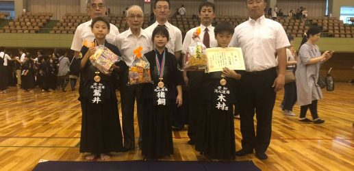 第八回秋田杯少年剣道大会