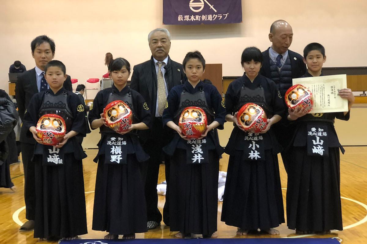 創立40周年記念第11回からっ風全国選抜達磨争奪少年剣道大会